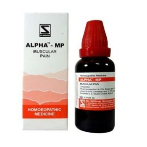 Alpha MP 30ml best homeopathic medicine for muscular pain cramps rheumatic pain Schwabe